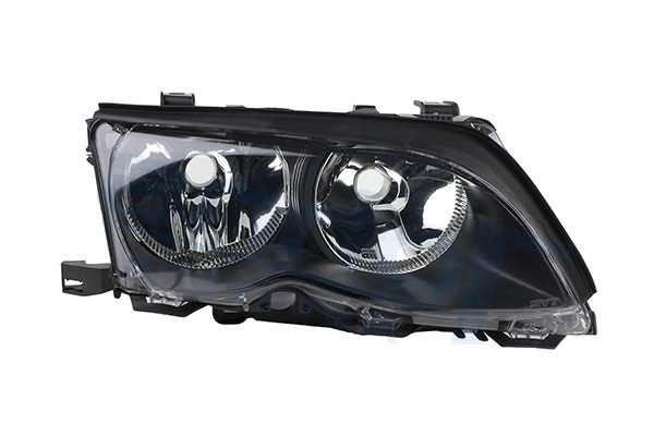 Far Bmw Seria 3 (E46), Sedan/Combi, 10.2001-06.2005, fata, Dreapta, ZKW type, H7+H7+W5W; electric; rama neagra; cu motor, AL (Automotive Lighting)