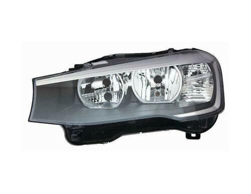 Far Bmw X3 (F25), 03.2014-; X4 (F26), 08.2014-, fata, Stanga, cu daytime running light; H7+H7+PY21W+W21W+W5W; electric; cu motor, AL (Automotive Lighting)