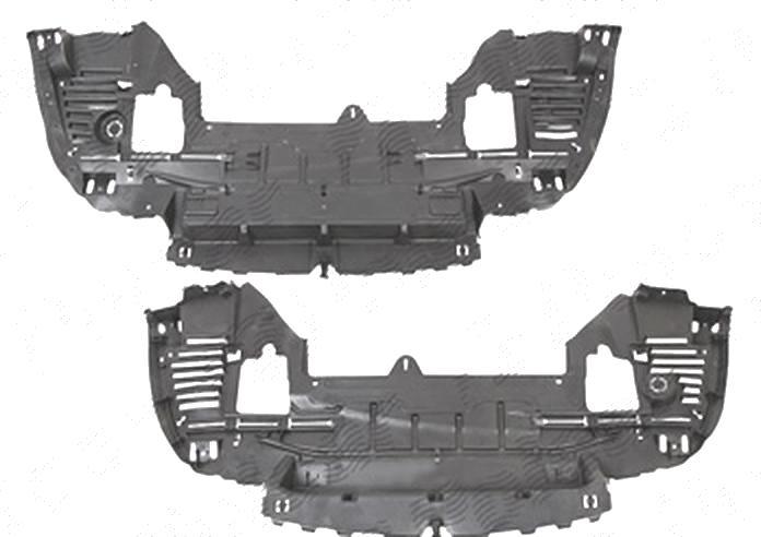 Scut sub bara fata Peugeot 308 (4), 09.2007-12.2013; Citroen C5 (Rd/Td), 01.2008-, fata, inferior