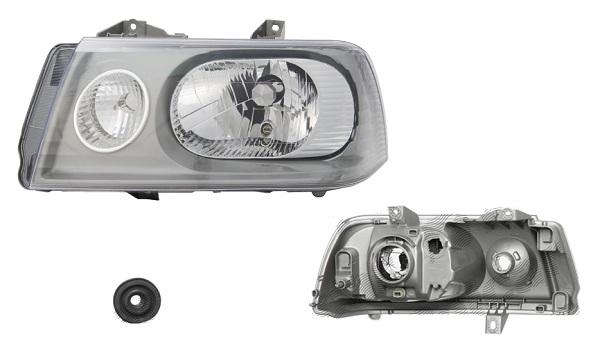 Far Citroen Jumpy (U6u), 01.2004-01.2007 , Fiat Scudo (220), 01.2004-02.2007; Peugeot Expert (222/223/224), 01.2004-01.2007, fata, Stanga, H4+PY21W+W5W; electric, DEPO