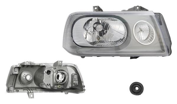Far Citroen Jumpy (U6u), 01.2004-01.2007 , Fiat Scudo (220), 01.2004-02.2007; Peugeot Expert (222/223/224), 01.2004-01.2007, fata, Dreapta, H4+PY21W+W5W; electric, DEPO