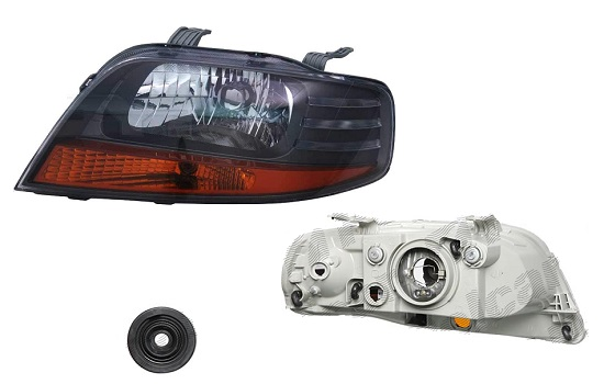 Far Chevrolet Aveo (T200), 2005-03.2006 Sedan; Daewoo Kalos (Klas/T200), 01.2003-12.2003 3 Usi, 5 Usi, fata, Stanga, H4; electric; fara motoras; cu indicator, DEPO