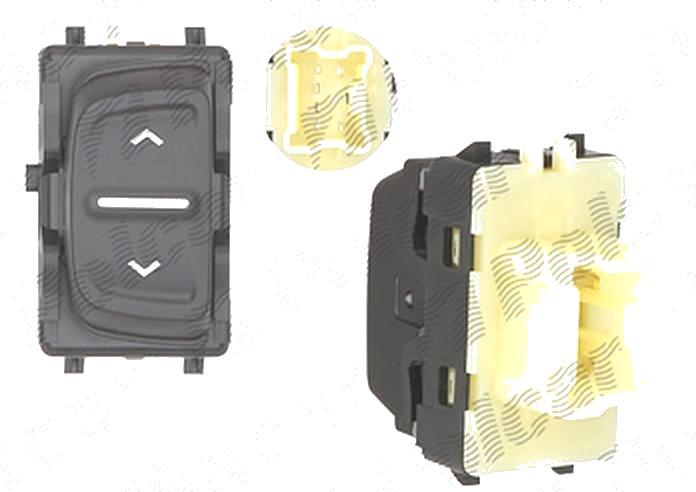 Buton , comutator macara usa Dacia Sandero, 10.2012-; Logan, 10.2012-, 1 buton