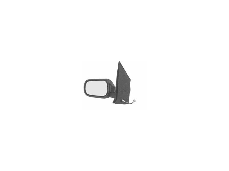 Oglinda exterioara Ford Fiesta (Jhs), 01.2002-09.2008, Stanga, reglare electrica; carcasa neagra; incalzita; geam convex; cromat; 5 pini