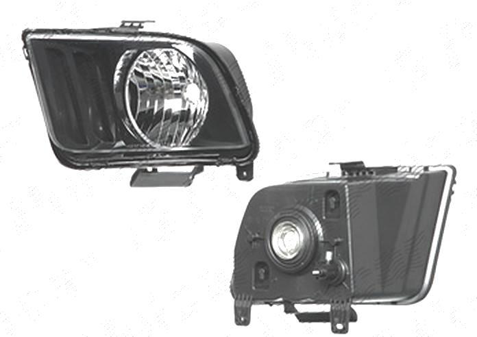 Far Ford Mustang, 2007-02.2009, fata, Stanga, Tip= USA; H13; manual; omologare: SAE, Taiwan