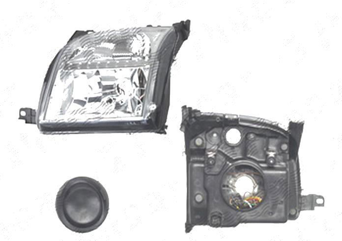 Far Ford Fusion (Jus), 08.2002-09.2005, fata, Stanga, fara carcasa becuri; H4+PY21W+W5W; electric; cu motor; DEPO