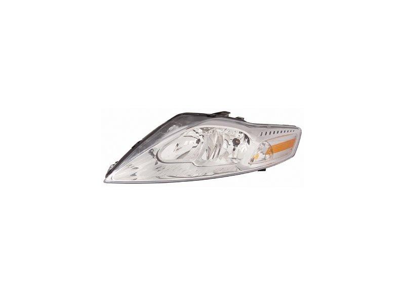 Far Ford Mondeo (Ba7), 09.2010-02.2015, fata, Stanga, version cu daytime running lights, fara carcasa becuri; fara parking light; H1+H7+PY21W+W5W; electric; cu carcasa; cu motor; DEPO
