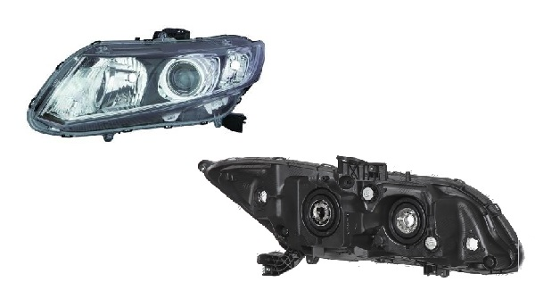 Far Honda Civic (Fb) Eu/Us Sedan/Coupe, 09.2011, spate, Stanga, SEDAN, H11+HB3+W21/5W+WY21W; electric; fara motoras, DEPO