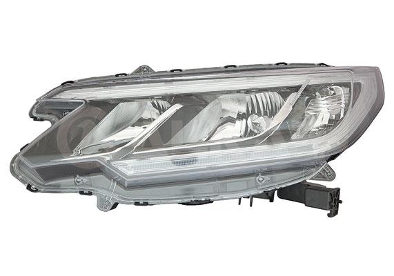 Far Honda Crv (Rm), 01.2015-, fata, Stanga, cu LED daytime running light; H11+HB3+LED+WY21W; electric; cu motor;