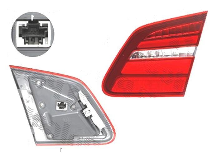 Stop spate lampa Mercedes Clasa B (W246), 09.2014-, spate, Dreapta, partea interioara; LED, ULO