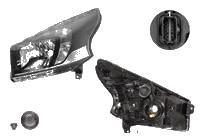 Far Opel Vivaro, 08.2014-, fata, Stanga, cu LED daytime running light; H4+PY21W; electric; fara motoras;