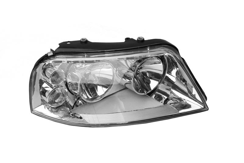 Far Volkswagen Sharan (7m), 04.2000-04.2010; Seat Alhambra (7v8/7v9), 02.2001-06.2010, fata, Dreapta, H1+H7; electric; rama reflector argintie; fara motoras, DEPO