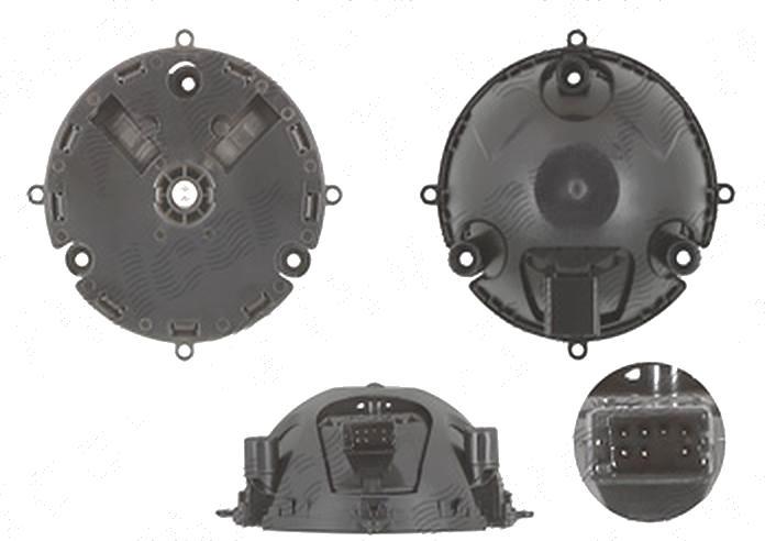 Actuator reglare oglinda exterioara Volkswagen Eos (1f), 2006-11.2010; Eos, 11.2010- , Golf 5 (1k), 10.2003-05.2009; Golf 5 Plus (5m), 01.2005-01.2009; Golf 6 (5k), 2008-, Jetta/Golf Combi 2005-2010, Stanga = Dreapta, pentru oglinzi cu memorie