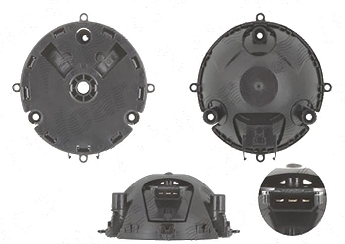 Actuator reglare oglinda exterioara Volkswagen Beetle (5c1), 10.2011-, Eos (1f), 05.2006-11.2010; Eos (1f), 11.2010-; Golf 5 (1k), 10.2003-05.2009;Golf 5 Plus (5m), 01.2005-01.2009; Golf 6 (5k), 10.2008-, Stanga = Dreapta