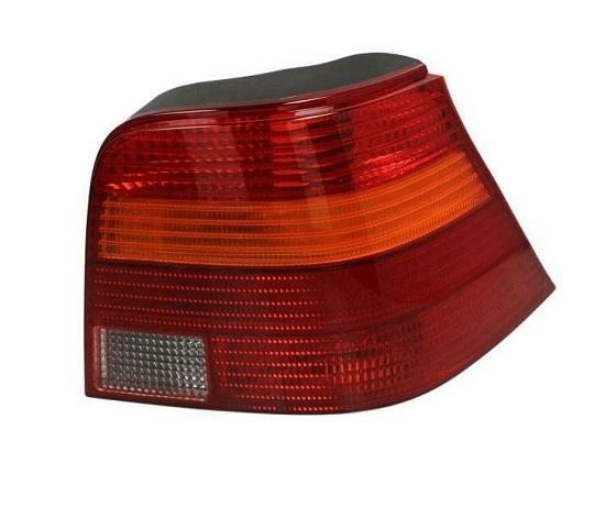 Stop spate lampa Volkswagen Golf 4 (1j), 08.1997-09.2006, spate, Dreapta, Hatchback, P21W+R10W; rosu-galben; fara suport bec, DEPO