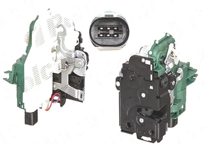 Broasca usa, incuietoare Volkswagen Passat (B5 (3b Gp)), 11.2000-01.2005, Jetta/Golf Combi (1k5/1km), 09.2005-09.2010, spate, Stanga