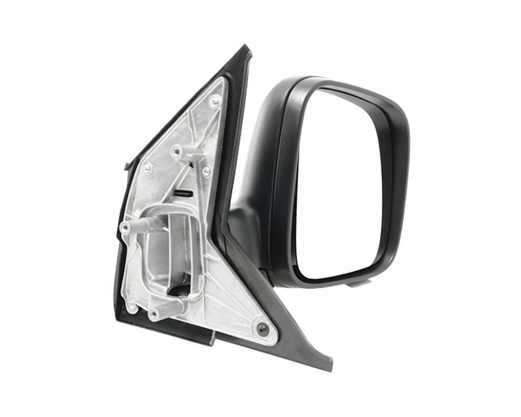 Oglinda exterioara VW Transporter (T5)/Multivan 04.2003-10.2009 Partea Dreapta Crom Convex Manuala Fara Incalzire, carcasa neagra, Max View