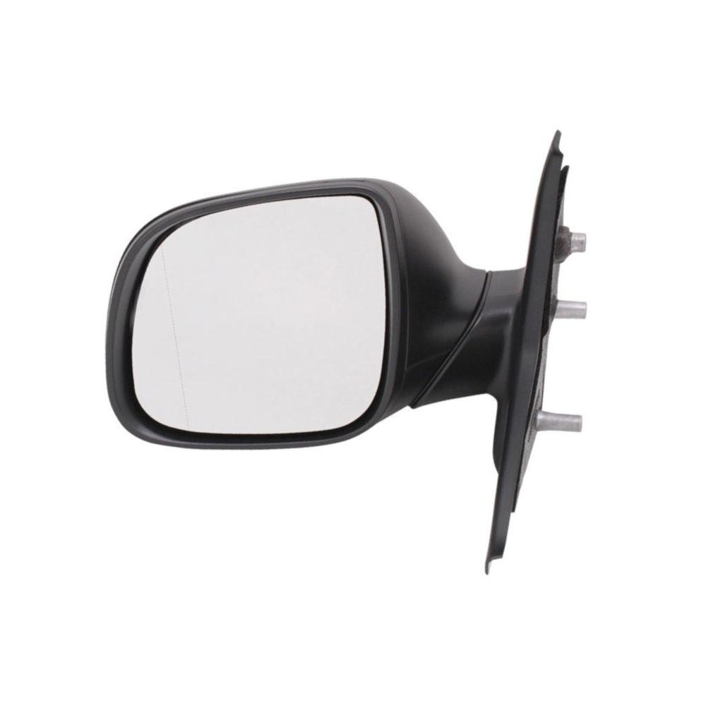 Oglinda exterioara VW Transporter (T5) 10.2009-2015, Partea Stanga Crom Asferica Manuala Fara Incalzire, carcasa neagra
