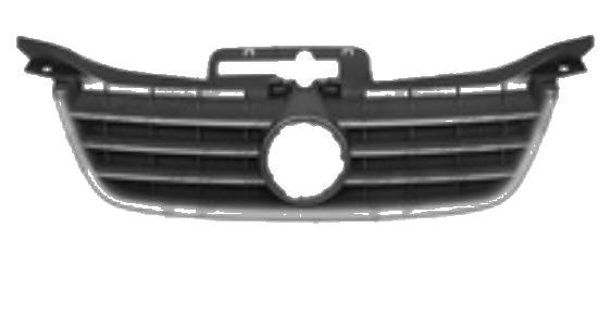Grila radiator VW Caddy 3/Life (2K), 03.2004-06.2010 Life, TOURAN (1T), 02.03-12.06, negru