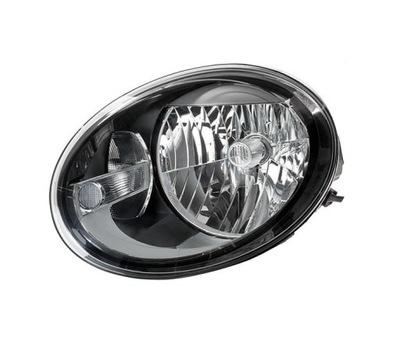 Far Vw Beetle (5c1), 10.2011-, Electric, tip bec H4, omologare ECE, fara motor, cu lumini de zi, Stanga, marca DEPO
