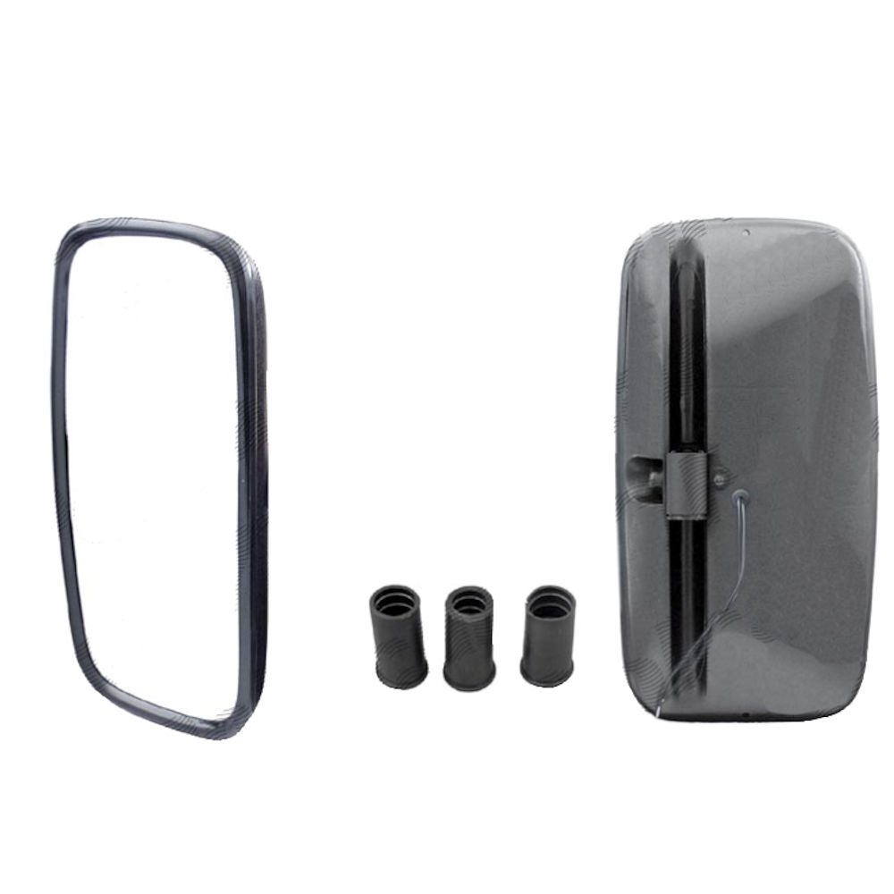 Oglinda retrovizoare exterioara Tir Partea Stanga/ Dreapta Convex Manuala Cu Incalzire 365x190 mm pentru brat fi 15/18/20/22 mm