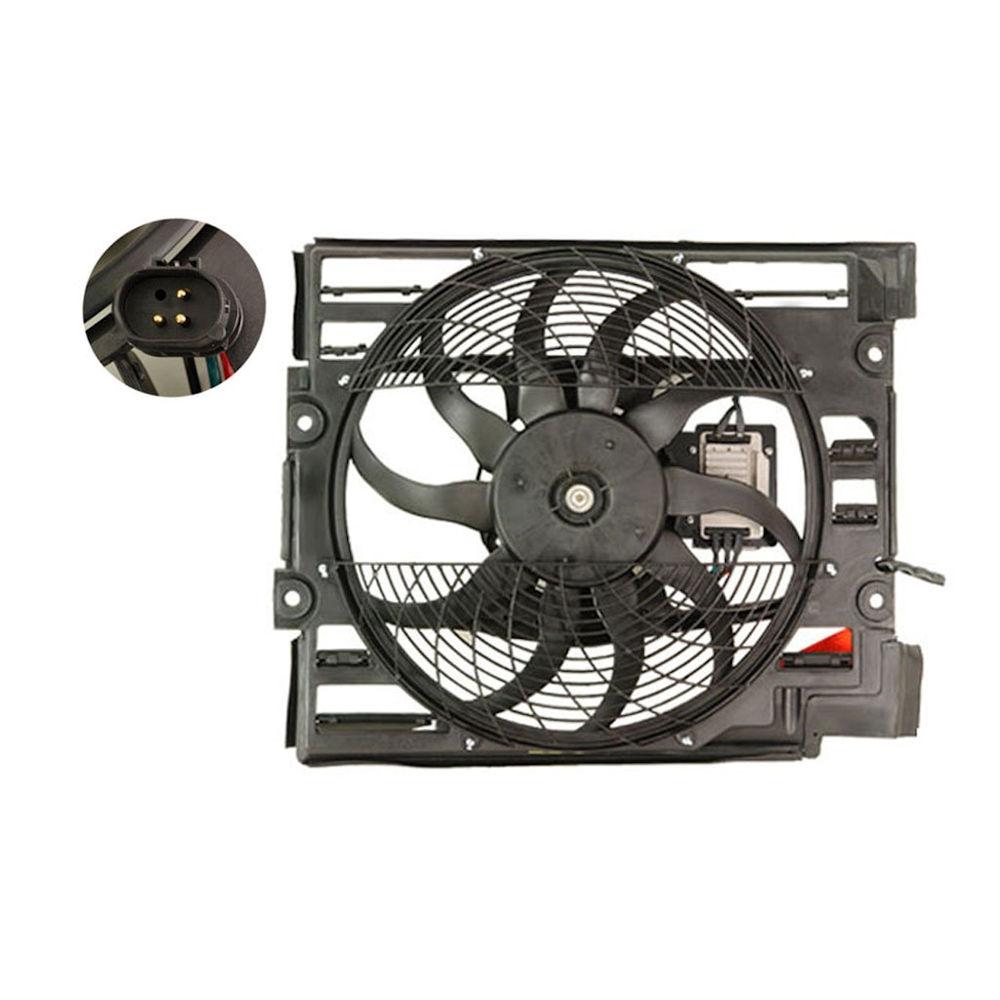 Ventilator radiator GMV BMW Seria 5 (E39), Seria 5 (E60), Seria 6 (E63, E64)
