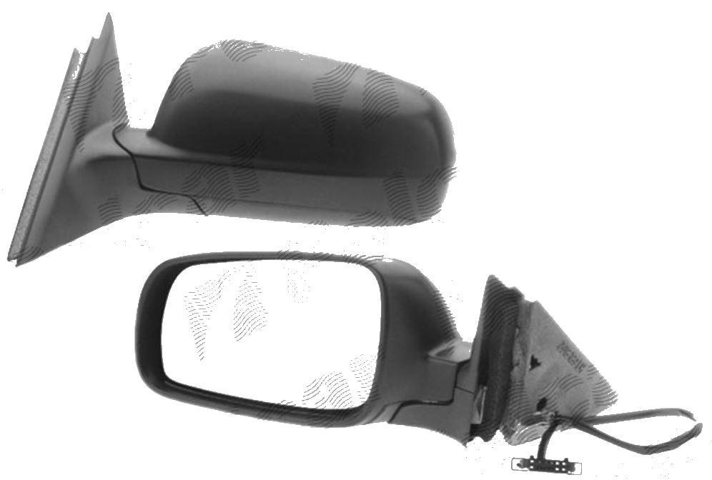 Oglinda exterioara Vw Passat, Sedan+Combi (B5) 01.1998-2002 Stanga, Crom, electrica, Cu incalzire, carcasa prevopsita, grunduita, Asferica, View Max, Model MARE, cu 5 pini