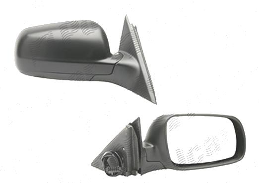 Oglinda exterioara Vw Passat, Sedan+Combi (B5) 01.1998-2002, Model MARE, carcasa grunduita, Dreapta, Crom, electrica, Cu incalzire, carcasa prevopsita, grunduita, Convex, View Max