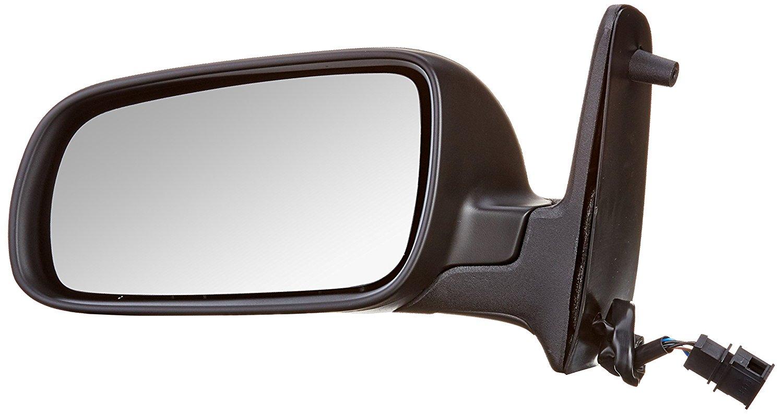Oglinda exterioara Seat Alhambra (7v8/7v9), 02.2001-06.2004, Vw Sharan (7m), 04.2000-04.2004, partea Stanga, culoare sticla crom, sticla asferica, cu carcasa neagra, ajustare manuala