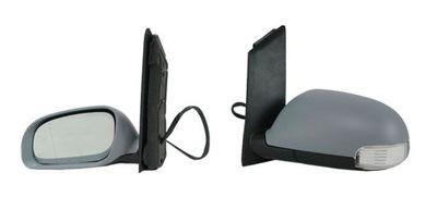 Oglinda exterioara Vw Touran (1T) 2003-2010, Stanga, Crom, electrica, Cu incalzire, carcasa prevopsita, grunduita, Asferica, carcasa grunduita, cu 6 pini, cu semnalizare