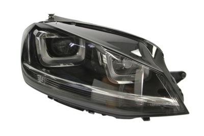 Far Vw Golf 7 (5k), 10.2012-, Electric, tip bec D3S+H7, omologare ECE, cu motor, bi-xenon, fara balast, cu lumini de zi, iluminare in viraje, Dreapta
