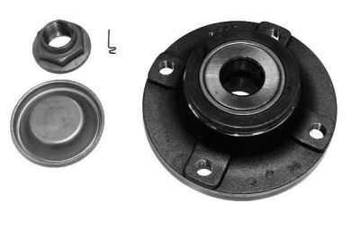 Butuc roata Citroen C4 1 (Lc); Peugeot 307 (3a/C) (3h) CX Bearings parte montare : Punte spate, Stanga/ Dreapta