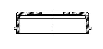 Tambur frana Toyota Yaris (Scp1, Nlp1, Ncp1) SRLine parte montare : Punte spate