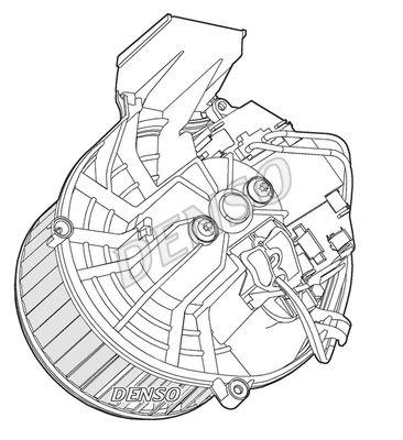 Ventilator habitaclu Citroen Jumpy; Peugeot Expert Tepee (Vf3v)