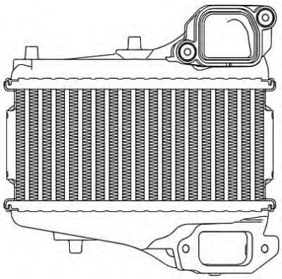 Radiator intercooler Honda CIVIC 9 (FK)