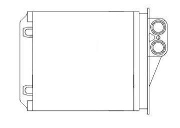 Radiator incalzire habitaclu Aftermarket 5065N8-3