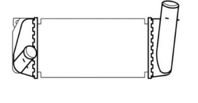 Radiator intercooler Toyota AURIS (ZWE18, NZE18, ZRE18)
