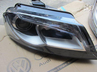 Far Audi A3 (8p), 04.08-10.12, electric , tip bec D3S LED , fara bec de descarcare ; fara balast ; cu motor , omologare ECE, 8P0941004AM; 8P0941030AM; 8P0941030BE, Dreapta
