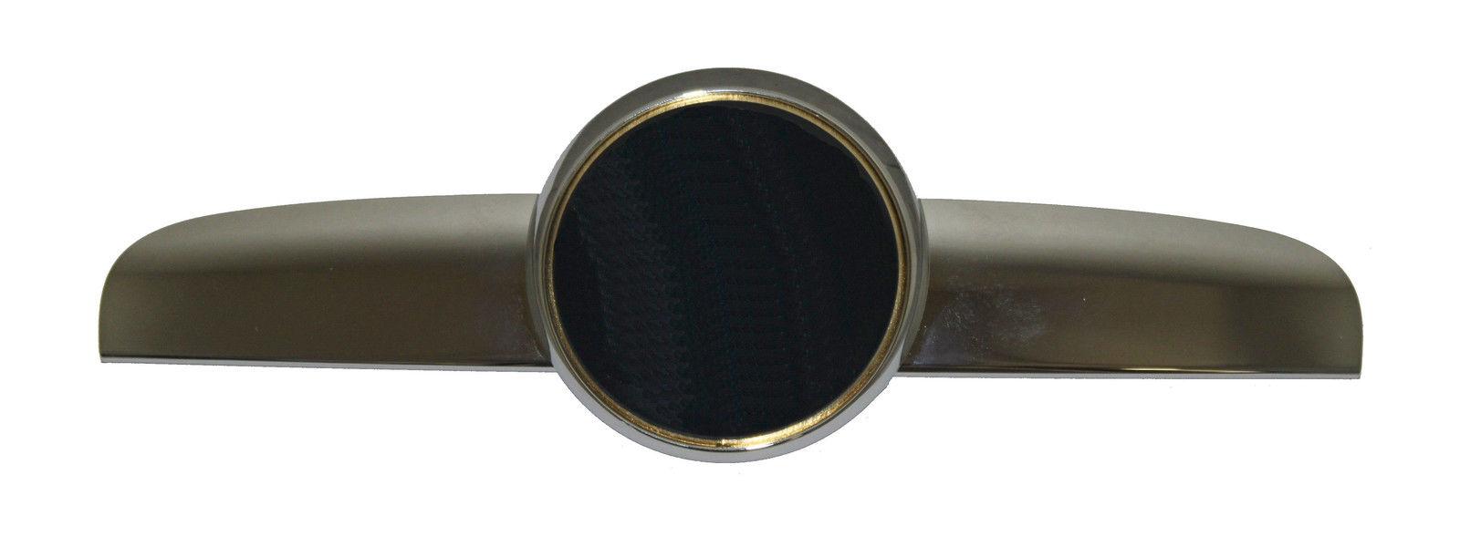 Ornament grila radiator Alfa Romeo 147 (937), 10.2004-2006, Cromat, Cu Locas Pentru Emblema, 0156058943; 156058943