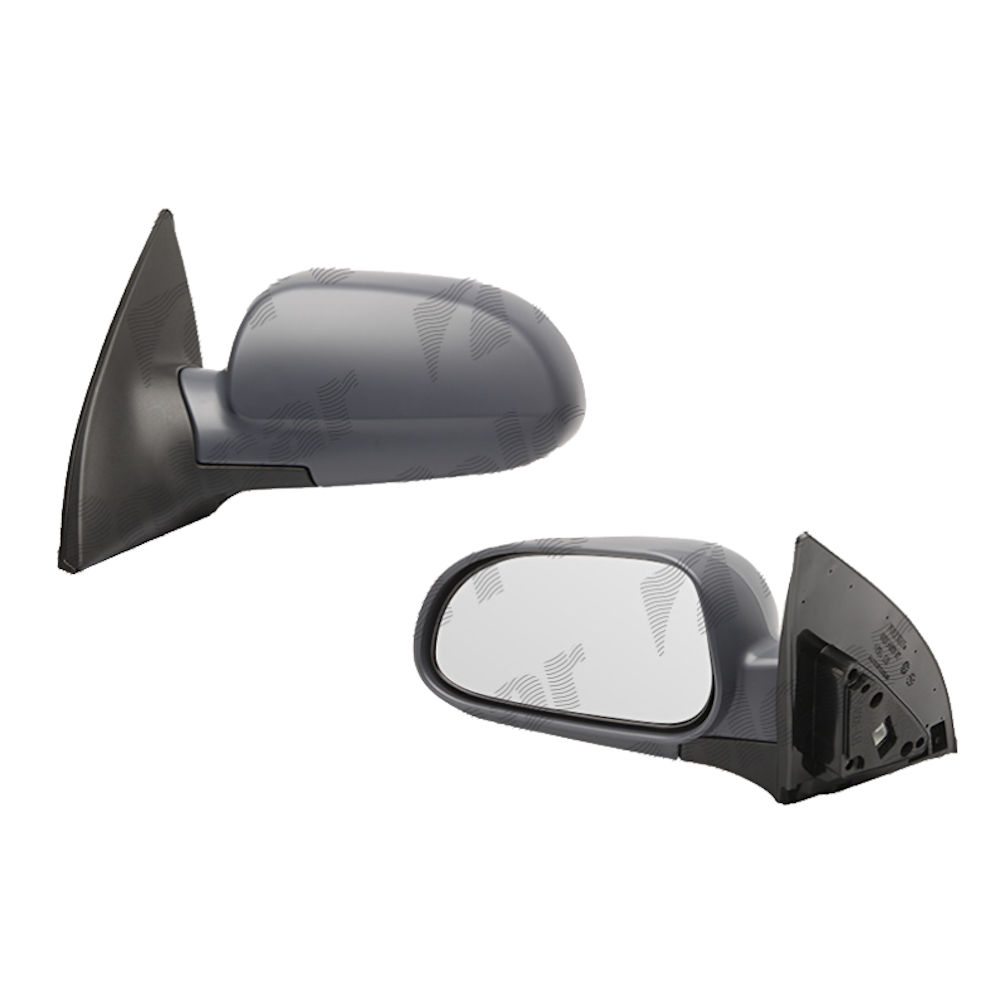 Oglinda exterioara Chevrolet Lacetti (Klan/J200) 10.2003-05.2009 partea dreapta Best Auto Vest crom convex carcasa prevopsita grunduita reglare electrica cu incalzire