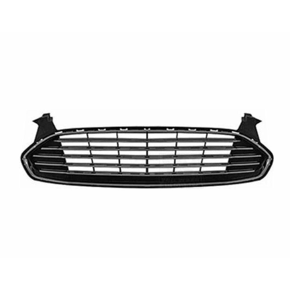 Grila radiator, masca fata Ford Mondeo, 03.2015-, parte montare centrala, completa, 32D205-0, Aftermarket
