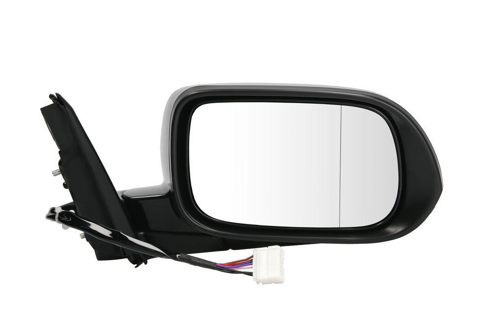 Oglinda exterioara Honda Accord (Cl/Cm/Cn) Sedan Combi (Eu) 10.2002-09.2005 partea dreapta View Max crom asferica grunduita partial reglare electrica cu incalzire 3833526M , pliabila