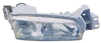 Far Mazda 626 (Ge), 1992-1996 Benzina, Manual,tip bec H1+H1, omologare ECE, 8DGM-51-040; 8DGM51040A; 8DGM-51-040B; marca DEPO, Stanga