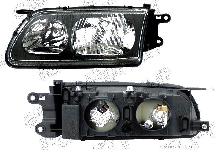Far Mazda 626 05.1997-12.2000 DEPO stanga fata, reglaj electric, tip bec H1+H7