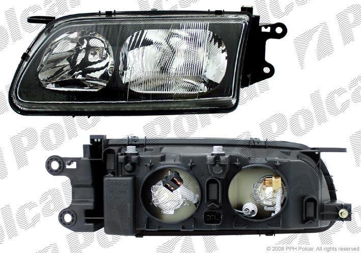 Far Mazda 626 05.1997-12.2000 DEPO dreapta fata, reglaj electric, tip bec H1+H7
