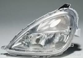 Far Mercedes Clasa A (W168) 09.1997-07.2000, Tip bec H1+H1+H7, omologare ECE reglare pneumatica, 1688200161; 1688200961; 168820096164; , Stanga, marca DEPO