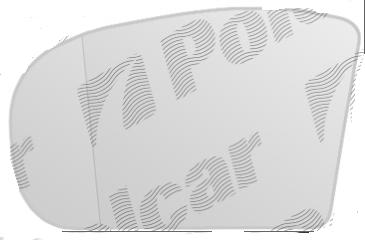 Geam oglinda Mercedes Clasa E (W211) 03.2002-06.2006 partea stanga Aftermarket electrocrom asferica cu incalzire
