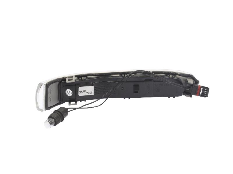 Lampa semnalizare aripa Mercedes Clasa CL (C215) 09.99-12.05, Mercedes Clasa S (W220) 03-08.05, alba, tip bec LED, omologare ECE, A2208200521, Stanga