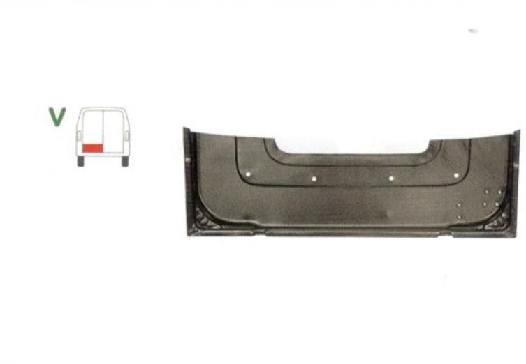 Element reparatie usa Mercedes 207-410, 1991-1995, partea stanga, inaltime 215 mm, parte inferioara, usa spate, cu 3 nervuri,