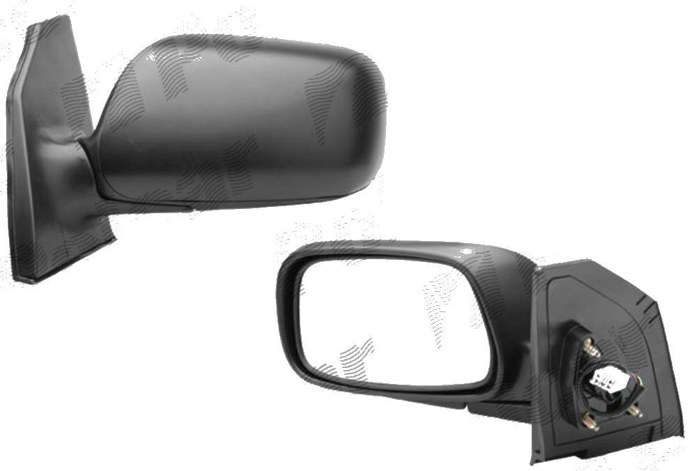 Oglinda exterioara Toyota Corolla (E12) 01.2002-12.2003 Partea Dreapta Crom Convex Electrica Cu Incalzire, Cu 5 Pini Connector rectangular, carcasa neagra cu primer 8790602050